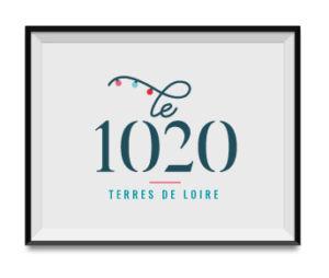 Réalisation logo Le 1020 - Oz media - Agence de communication à Roanne