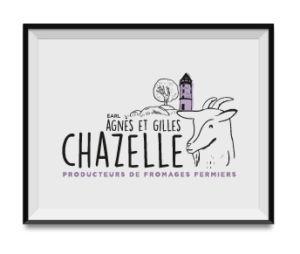 Réalisation Logo Agnès et gilles Chazelles - Oz media - Agence de communication à Roanne