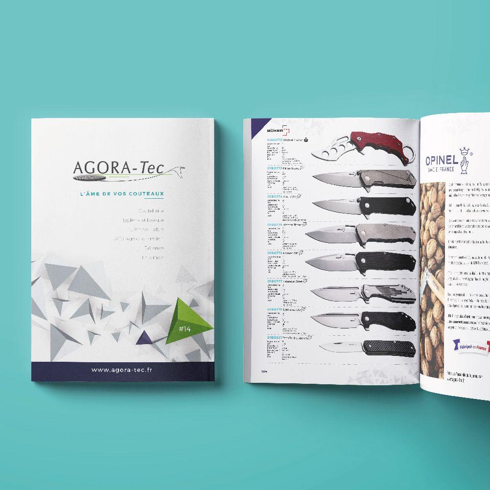 Agoratec confie la réalisation de ses catalogues à Oz média